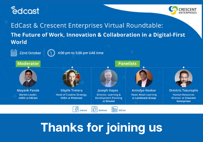Virtual Roundtable: The Future of Work, Innovation & Collaboration in a Digital-First World